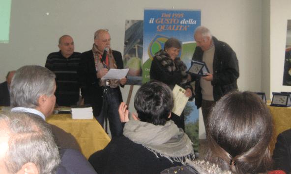 premiazione oro delle Marche 2014